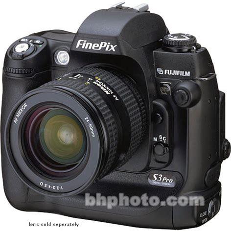 fuji slr fujifilm finepix s3 pro digital slr 12 3 43020509 b h