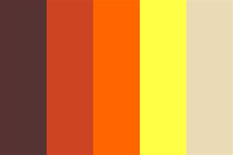 what color is lava the floor is lava color palette