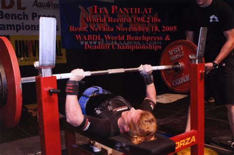 bench press record holder bench press leor pantilat s adventures