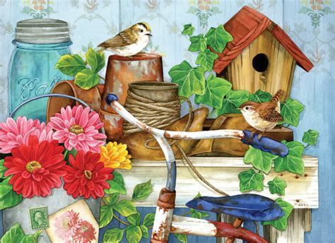 Best Terlaris Puzzle Jigsaw From Tomorrow 100 Pcs Sni the garden shed jigsaw puzzle puzzlewarehouse