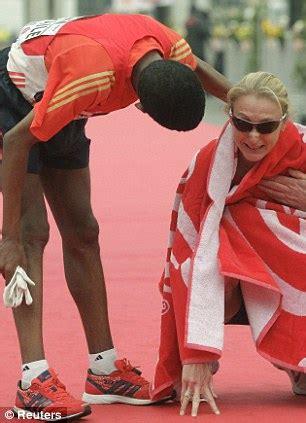 Paulas Tough by Paula Radcliffe Beaten By Haile Gebrselassie In Vienna