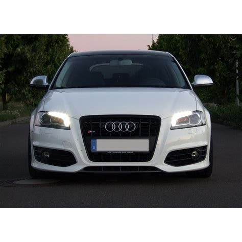 Audi A3 Led fari bixenon led audi a3 hella welldone lighting