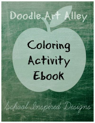 Free Doodle Activity School Ebook Today