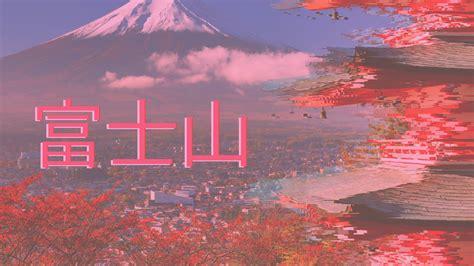 vaporwave japan mount fuji wallpapers hd desktop
