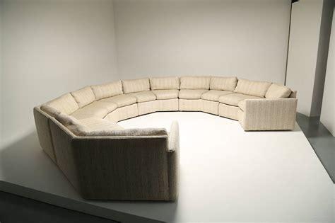 hexagonal sofa mid century hexagonal sectional sofa in the style of milo
