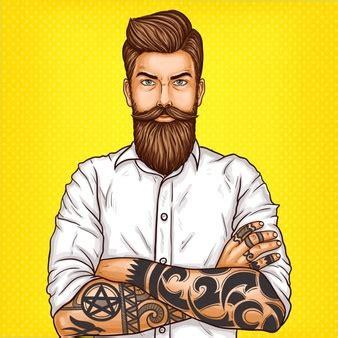 beard vectors photos and psd files free