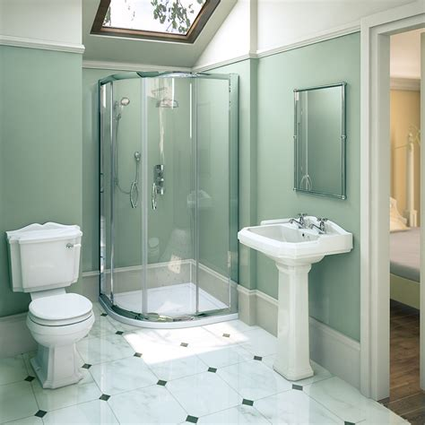 mm ella shower quadrant oxford en suite set