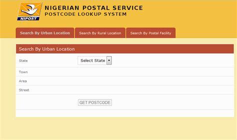 adsense zip code postal or zip codes of lagos and other states in nigeria