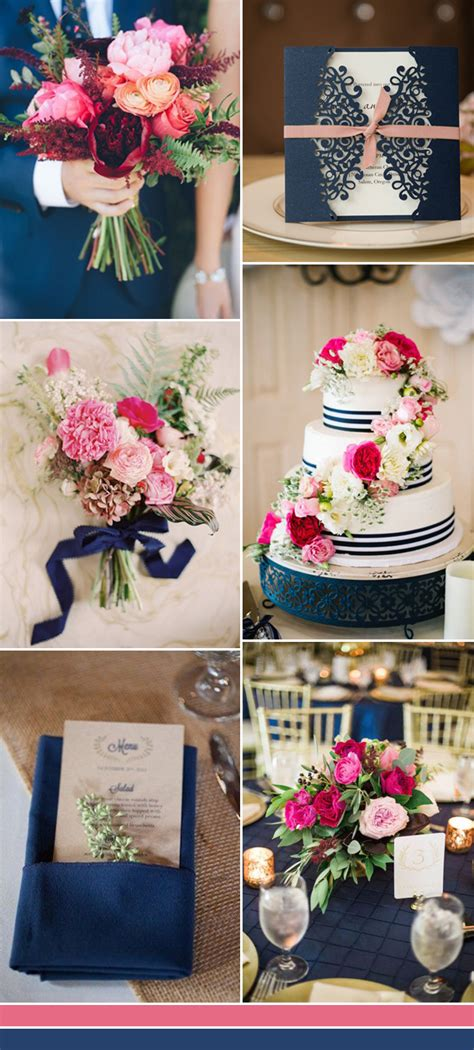 pink and blue wedding colors the best shades of blue wedding color ideas for 2017