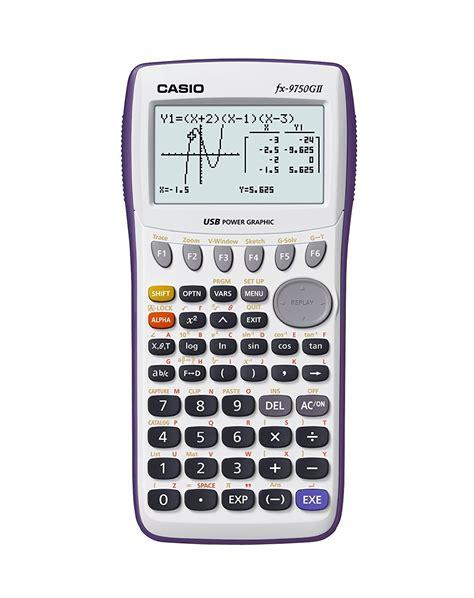 calculator online casio casio graphing calculator fx 9750gii giveaway the