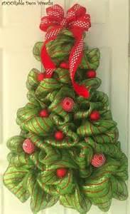 ribbon christmas quot wreath quot arts crafts pinterest