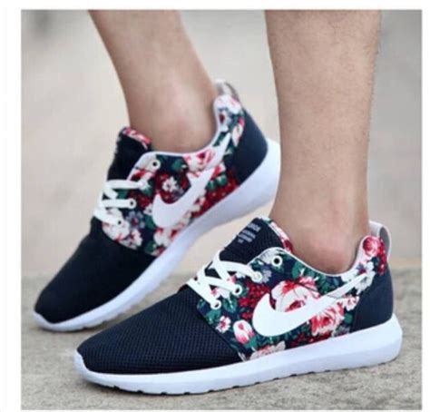 nike floral sneaker shoes floral sneakers black and white flowers nike