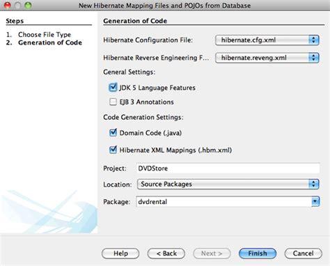 tutorial netbeans hibernate using hibernate in a web application netbeans ide tutorial