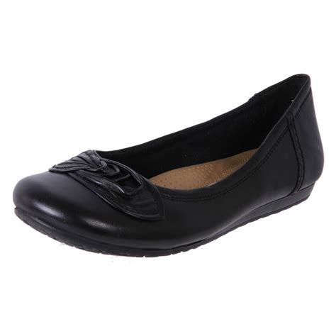 Cheap Planet Shoes Womens Leather Comfort Ballet Flat
