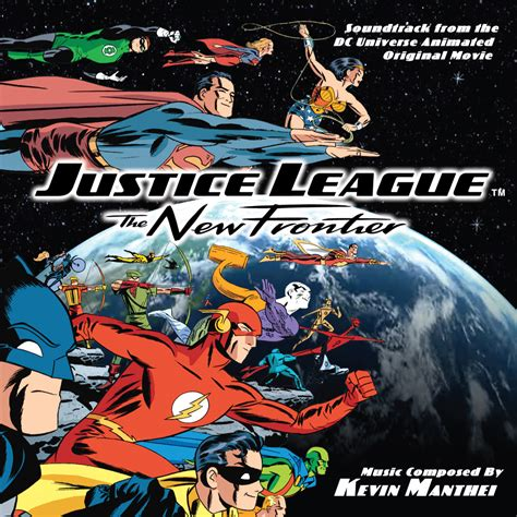 movie justice league new frontier justice league the new frontier cd