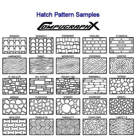 hatch pattern generator autocad good old inf patterns pinterest architecture