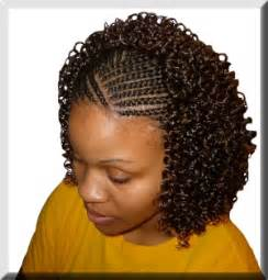 the half braided hairstyles in africa ladies and girls hair styles new curly braid hair style