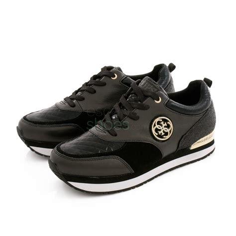 sneakers guess sneakers guess rimma black flrim3lem12 escapeshoes