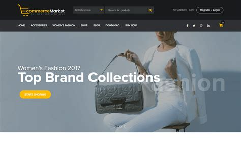 best free ecommerce themes 30 best free ecommerce woocommerce themes for 2018