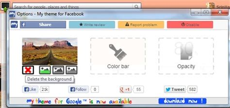facebook themes love change facebook theme using my theme for facebook chrome app