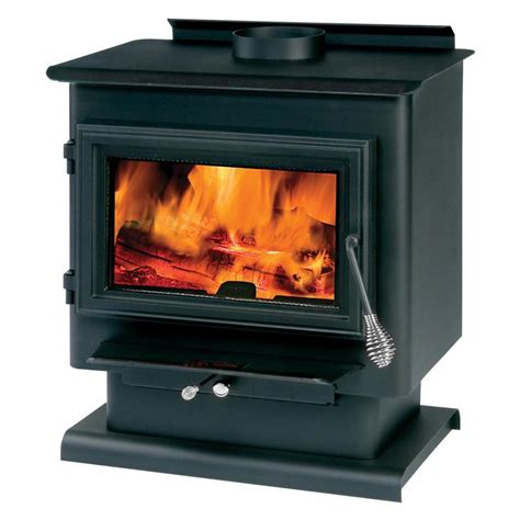 Summers Plumbing Heating And Cooling Reviews by Shop Summers Heat 1800 Sq Ft Wood Burning Stove At Lowes
