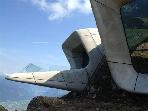 gallery of messner mountain museum corones zaha hadid museum in the dolomites by zaha hadid