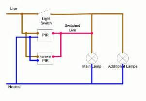 pir wiring diagram lighting wiring free wiring diagrams
