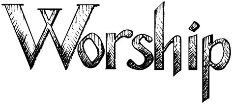 worship service clipart clipart suggest