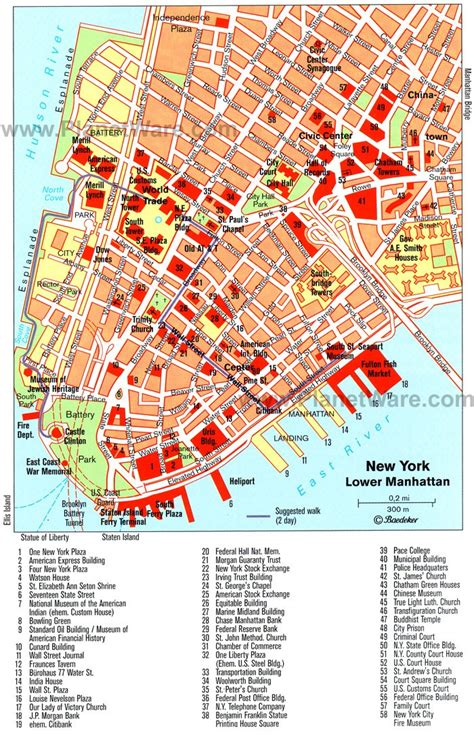 best map of new york city map of new york with attractions new york city map for