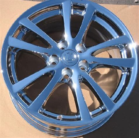chrome lexus rims ok wtb 18 quot chrome lexus is wheels lexus forums