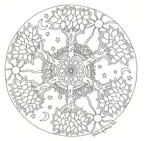 free coloring pages of tree of life