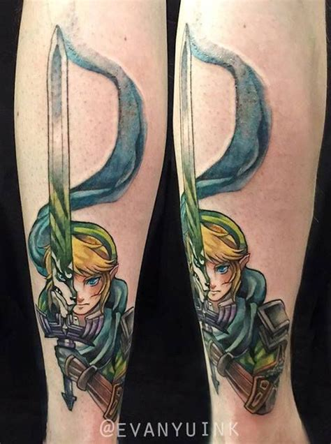 twilight princess tattoo chronic ink toronto link wolf form