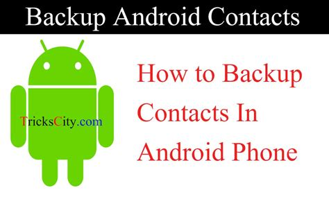 how to backup contacts on android how to backup contacts in android phone in 1 minute