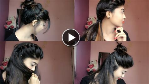 college hairstyles step by step simple cute and beautiful hairstyle for girls