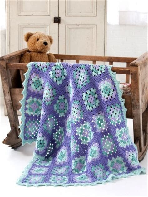 Free Square Baby Blanket Pattern by Easiest Baby Blanket Pattern Allfreecrochet
