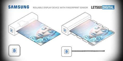 Proyektor Lengkap Dengan Layar samsung ajukan paten layar gulung lengkap dengan sensor sidik jari merdeka
