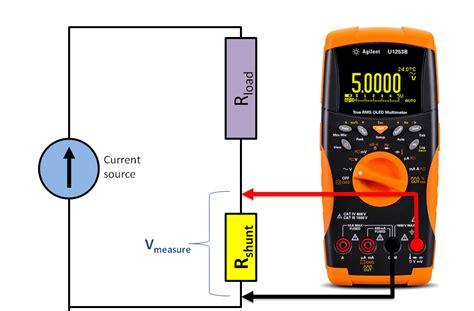 shunt resistor max current measurementest test and measurement how to measure current using a shunt resistor