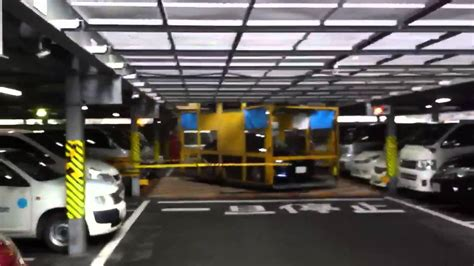Underground Garage Design japanese parking garage elevator youtube