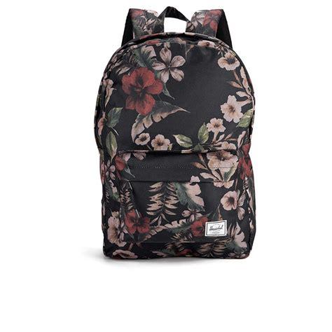 Camo Print Backpack herschel classic hawaiian camo print backpack green
