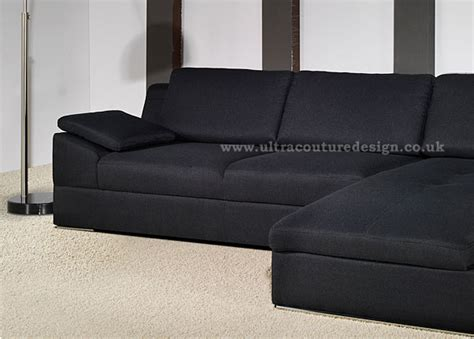 black leather corner sofa dadka modern home decor and space saving furniture for