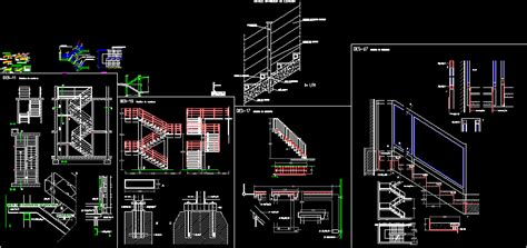 Stair Section Dwg by Stairs Dwg Pencil And In Color Stairs Dwg