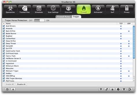 Protecting Your Mac From Network Attacks With Virusbarrier X6