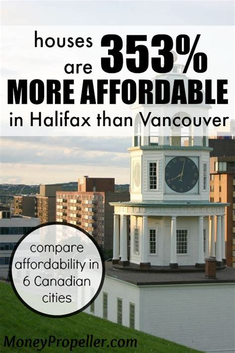 can canadian buy house in usa houses are 353 more affordable in halifax than vancouver money propeller