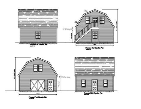 charming free 24x24 garage plans 24x24 2 car garage plan gambrel roof plan 17 2424gmb 2 24 x24 garage ebay