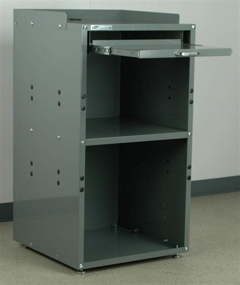 Custom Pc Cabinet by Stackbin Computer Stations Open Computer Cabinet