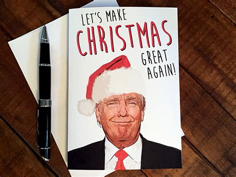 donald trump xmas cards saturday ramblings december 17 2016 internetmonk com