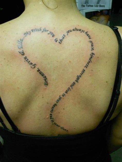 tattoo quotes about kindness back heart tattoo quotes my wish for you is that you