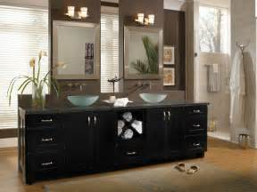 black cabinet bathroom cabinetry sumner maple black contemporary