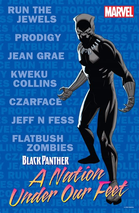 black panther a nation our book 3 top hip hop talent appearing at nycc marvel black panther