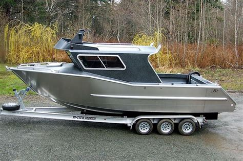 offshore fishing boat plans aluminum boat building google search boats pinterest